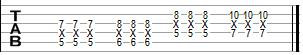 Example of play octaves